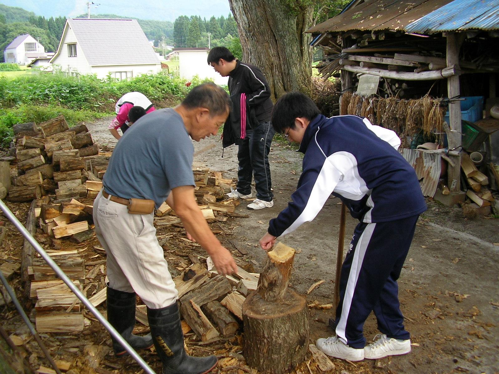 写真:農山村体験(仙北市)4