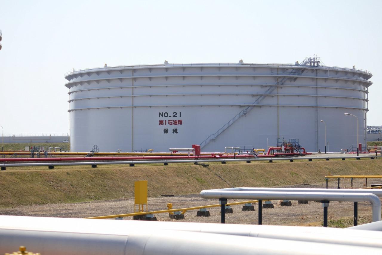 写真:秋田国家石油備蓄基地3