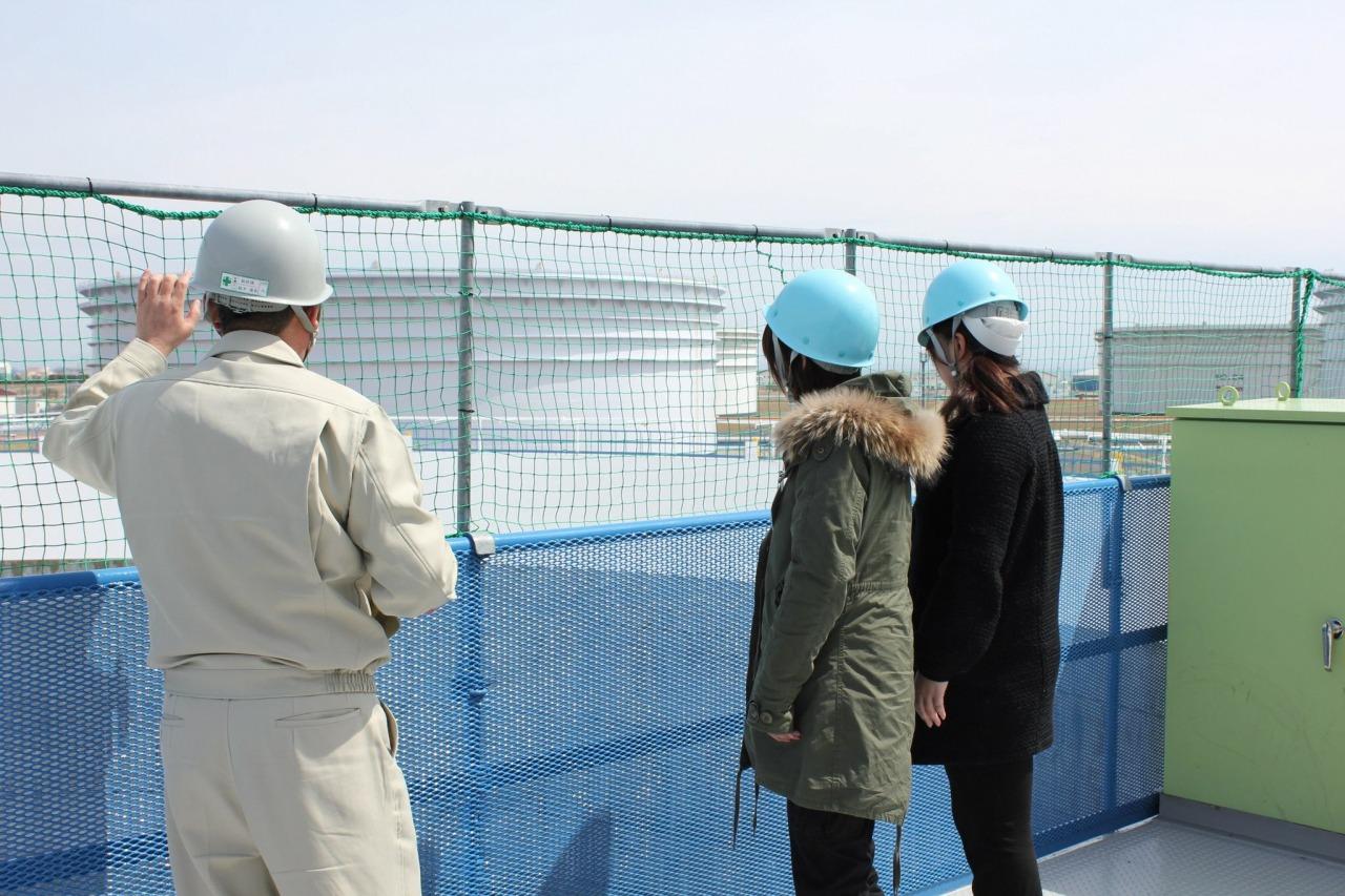写真:秋田国家石油備蓄基地1