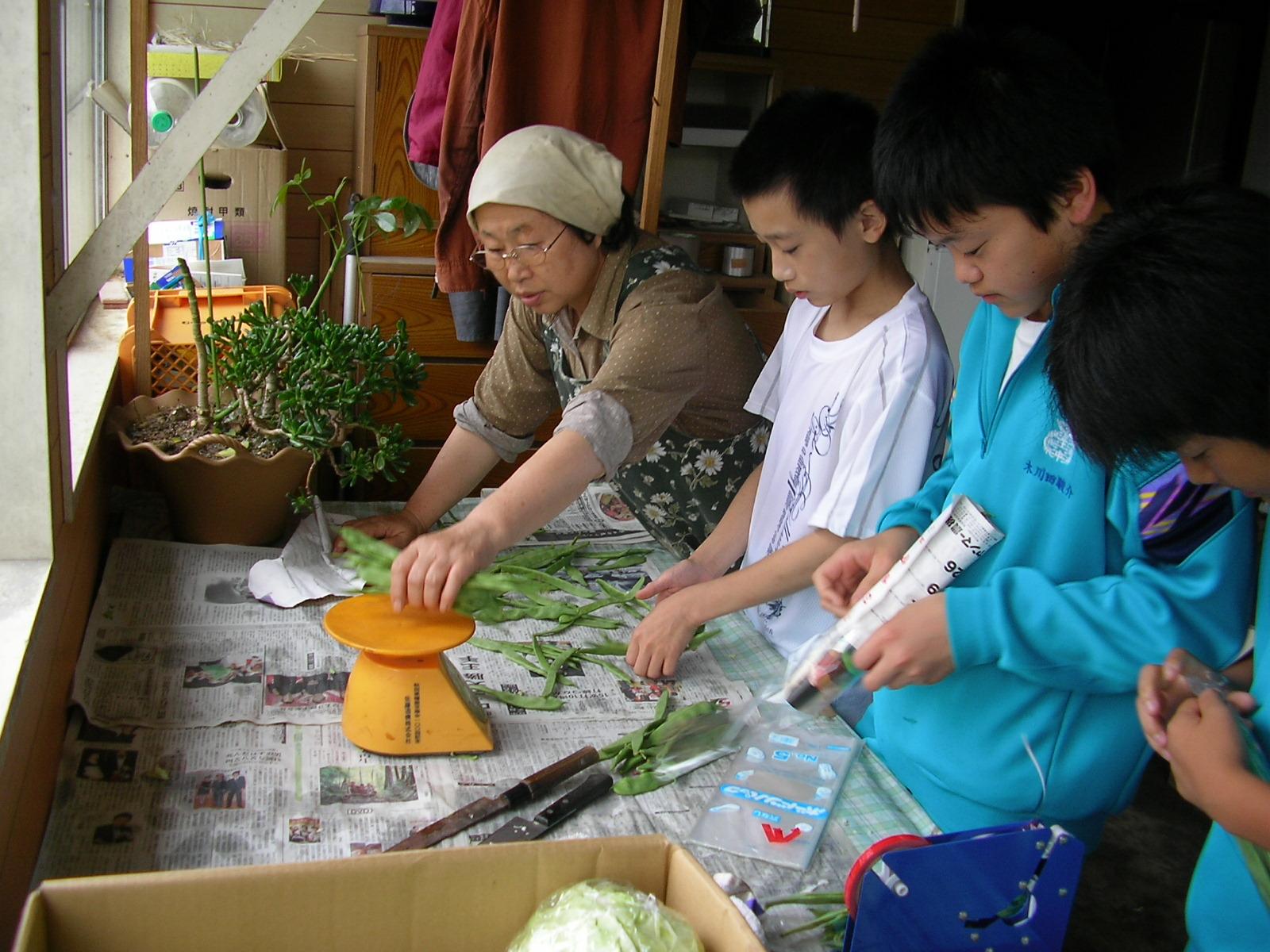 写真:農山村体験(仙北市)5