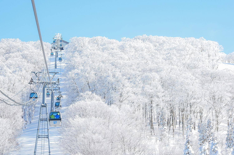 写真:森吉山阿仁スキー場1